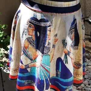 😎 Egyptian goddess skater circle skirt